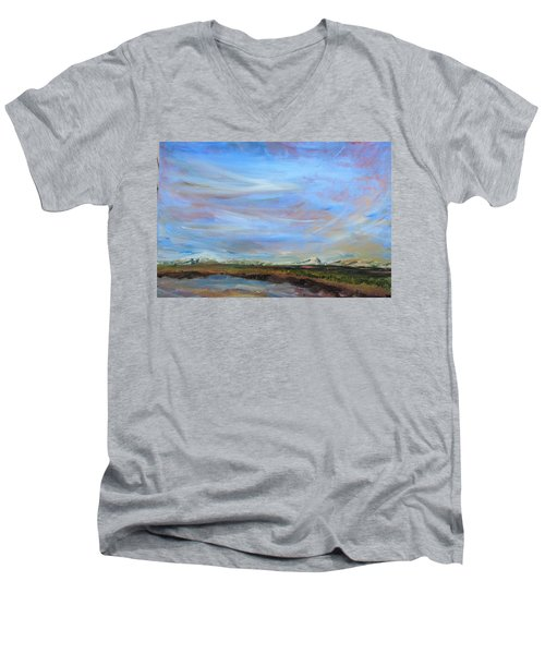 A Different Perspective Men's V-Neck T-Shirt