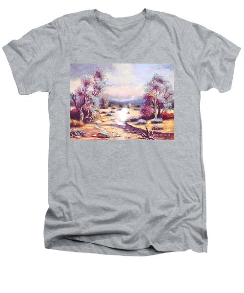 A Door Of Hope  Men's V-Neck T-Shirt