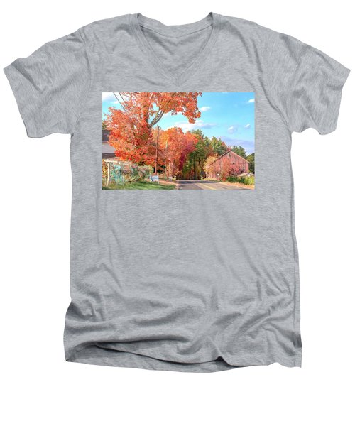 A Drive In The Country Men's V-Neck T-Shirt