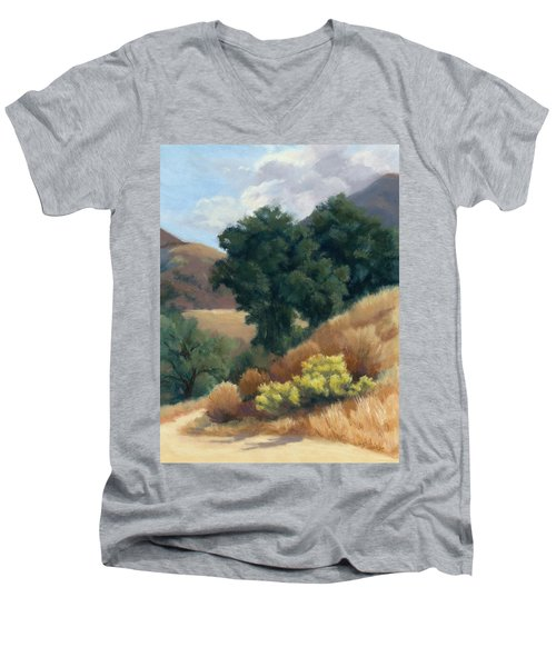 A Fall Day At Whitney Canyon Men's V-Neck T-Shirt