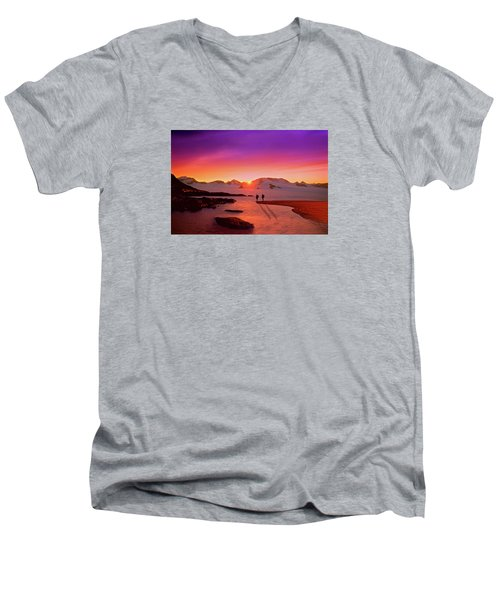 A Far-off Place Men's V-Neck T-Shirt