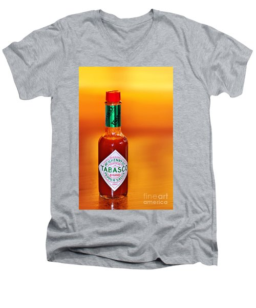 A Feeling Of Warmth Men's V-Neck T-Shirt