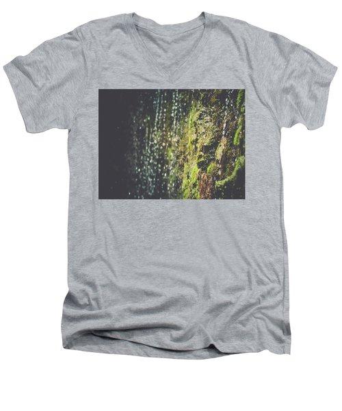 A Flowing Rock Men's V-Neck T-Shirt
