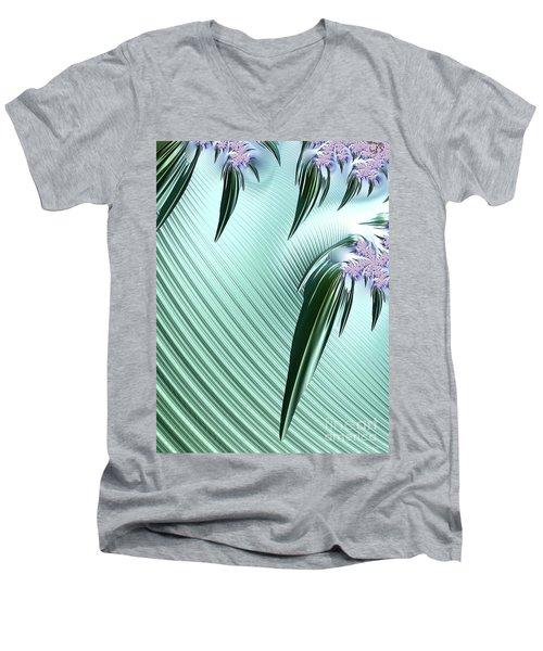 A Fractal Unlilke Any Others Men's V-Neck T-Shirt