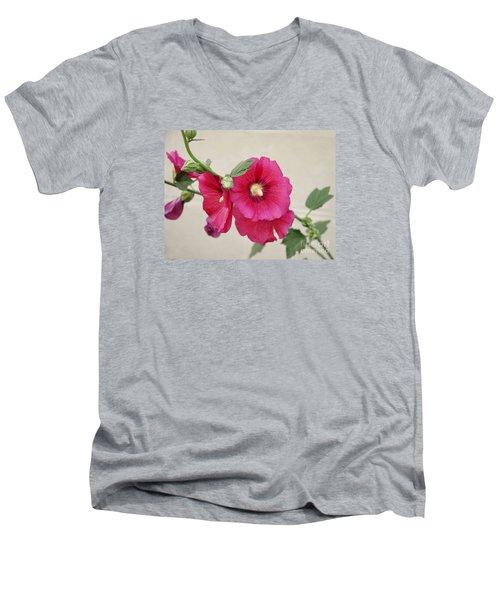 A Gentle Bloom Men's V-Neck T-Shirt