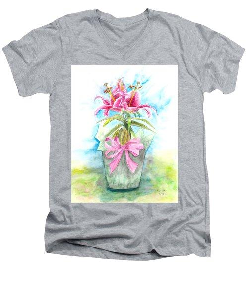 A Gift Men's V-Neck T-Shirt