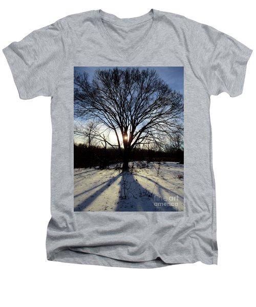 A Glimmer Of Hope  Men's V-Neck T-Shirt