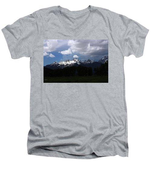 A Glimmer Of Sunshine Men's V-Neck T-Shirt