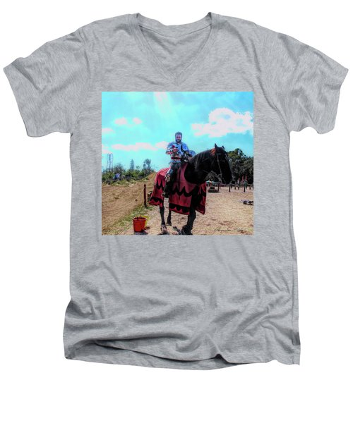 A Good Knight Men's V-Neck T-Shirt