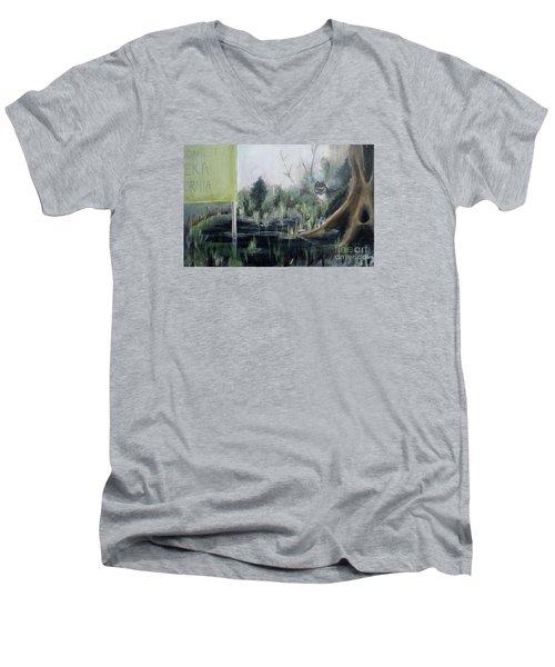 A Humboldt Holiday Men's V-Neck T-Shirt