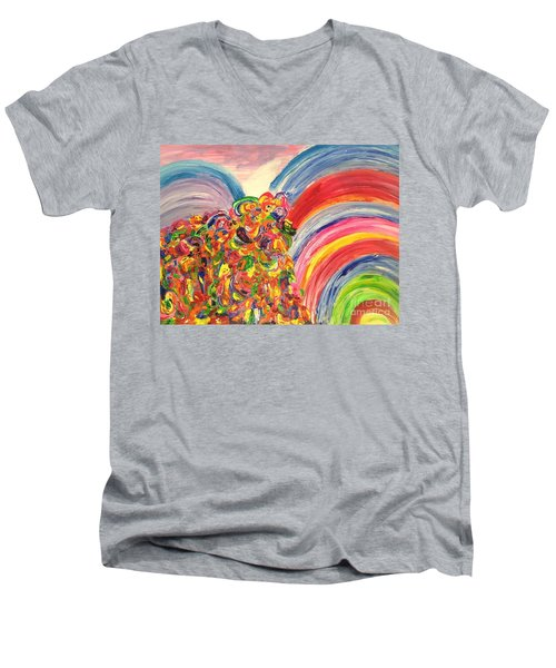 A Joyful Noise Men's V-Neck T-Shirt