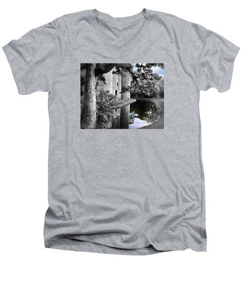 A Knight's Castle In Blue Men's V-Neck T-Shirt