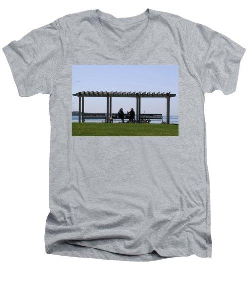 A Lazy Day Men's V-Neck T-Shirt