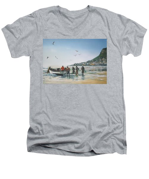 A Light Breakfast Men's V-Neck T-Shirt