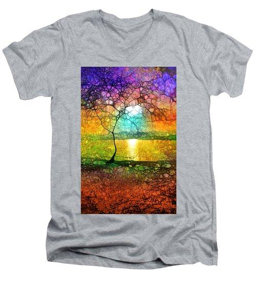 A Light Like Love Men's V-Neck T-Shirt