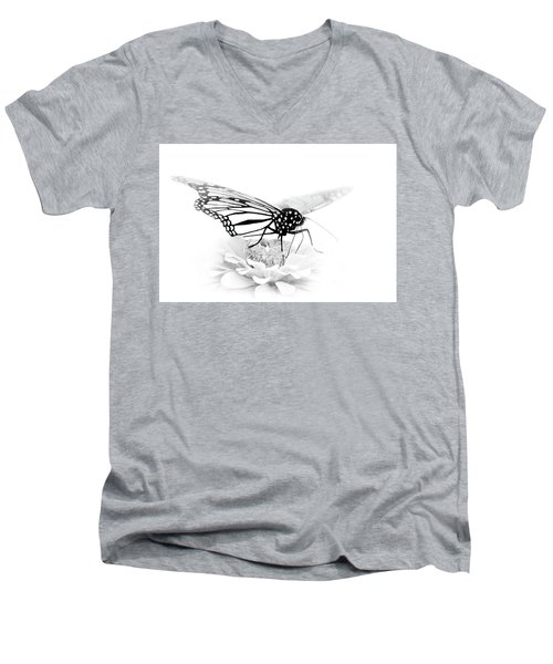 A Light Touch - Butterfly Men's V-Neck T-Shirt