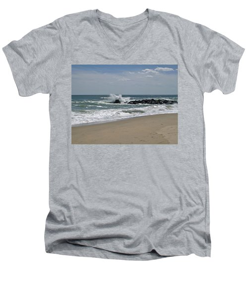 A Little April Drama Men's V-Neck T-Shirt
