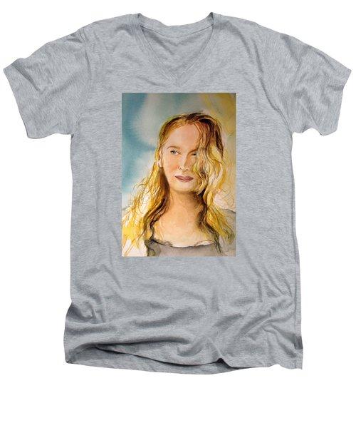 A Little Bit Of Meryl Men's V-Neck T-Shirt