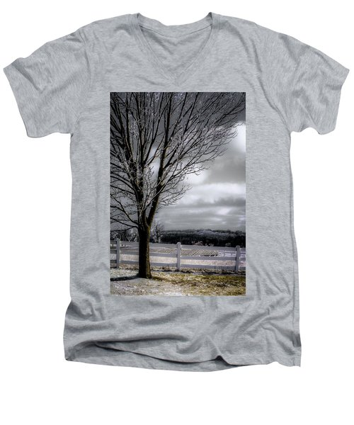 A Little Sun On A Cloudy Day Men's V-Neck T-Shirt