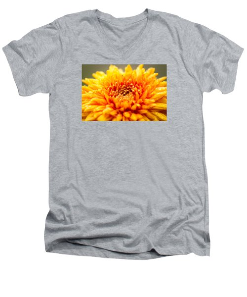 Men's V-Neck T-Shirt featuring the photograph A Little Time To Think Things Over by Wade Brooks