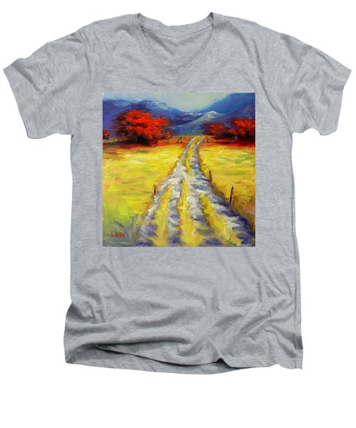 A Long Journey Men's V-Neck T-Shirt