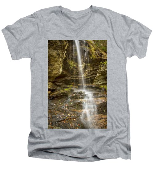 A Look At Window Falls Men's V-Neck T-Shirt