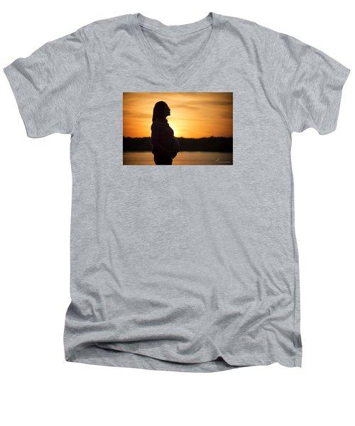 A Marvelous Future Ahead Men's V-Neck T-Shirt