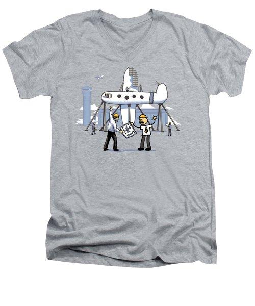 A Matter Of Perspective Men's V-Neck T-Shirt