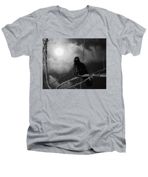 A Moonlicht Nicht Men's V-Neck T-Shirt