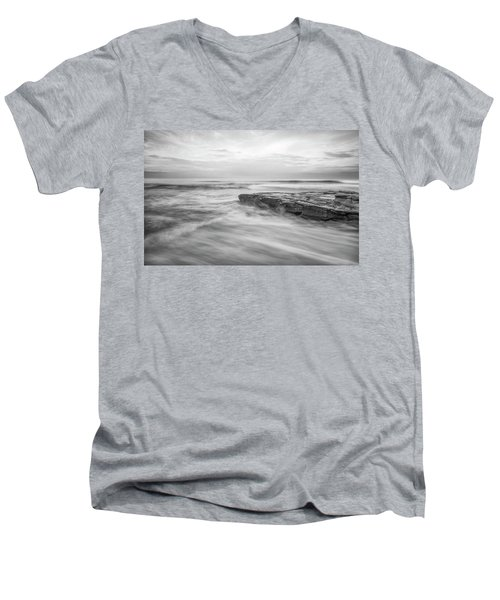 A Morning's Gift Men's V-Neck T-Shirt by Joseph S Giacalone