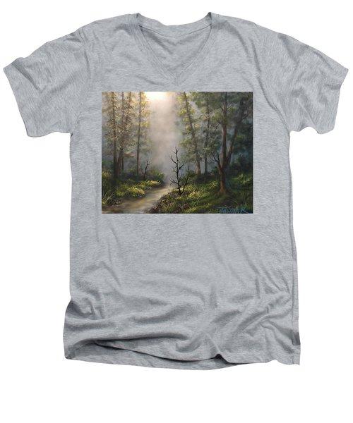 A New Day  Men's V-Neck T-Shirt