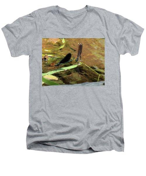 A Pair Alight Men's V-Neck T-Shirt