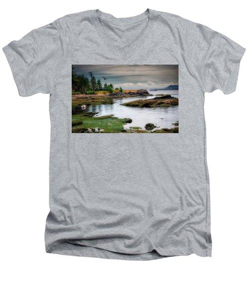 A Peaceful Bay Men's V-Neck T-Shirt