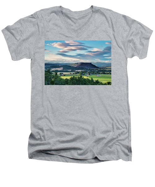 A Peaceful Land Men's V-Neck T-Shirt
