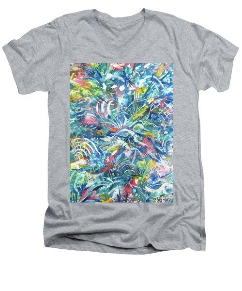 Joy In Action Men's V-Neck T-Shirt
