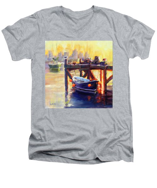 A Pier Men's V-Neck T-Shirt