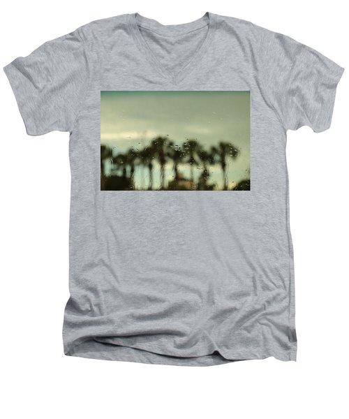 A Rainy Day Men's V-Neck T-Shirt