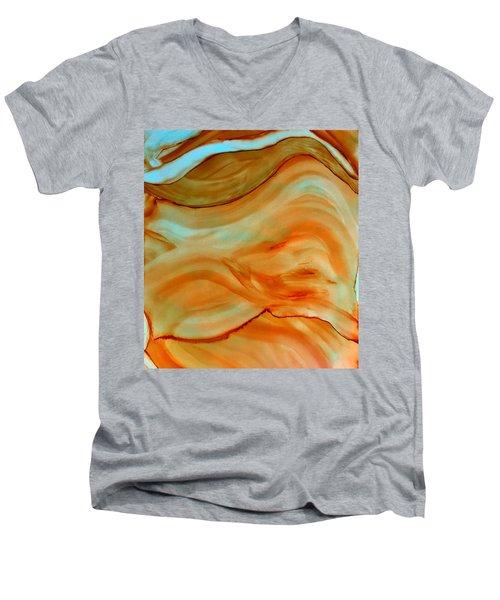 A River Runs Through It Men's V-Neck T-Shirt
