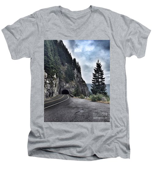 A Road To Nowhere Men's V-Neck T-Shirt