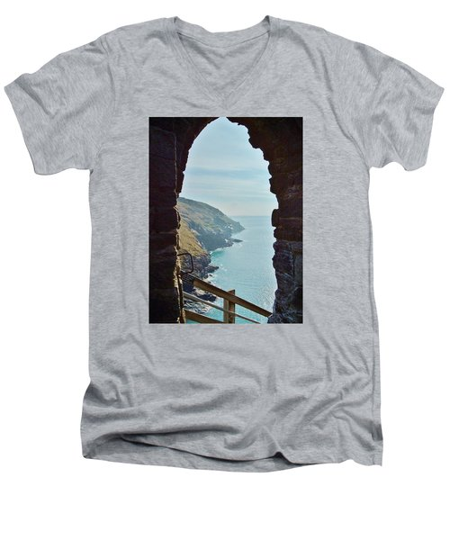 A Room With A View Men's V-Neck T-Shirt by Richard Brookes