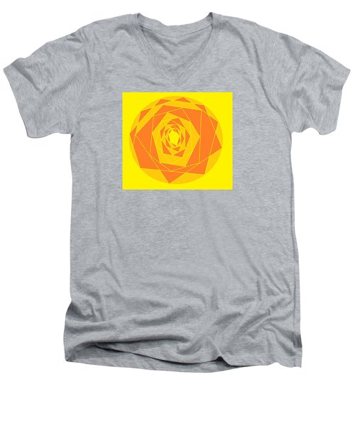 A Rose By Any Other Name 1 Men's V-Neck T-Shirt by Linda Velasquez