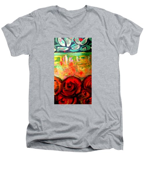 A Rose Is A Rose Men's V-Neck T-Shirt