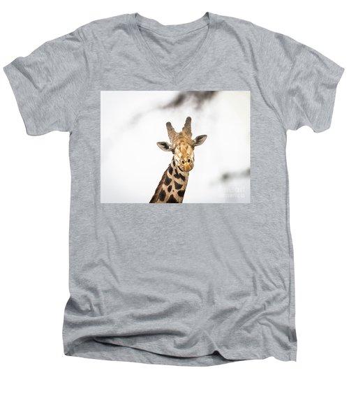 A Rothchild Men's V-Neck T-Shirt