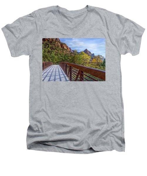 A Scenic Hike Men's V-Neck T-Shirt