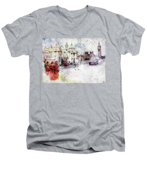 A Sense Of Time Men's V-Neck T-Shirt
