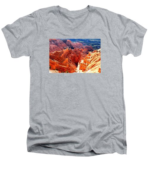 A Slice Of Brice Men's V-Neck T-Shirt