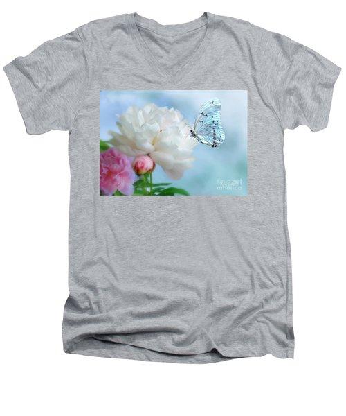 A Soft Landing Men's V-Neck T-Shirt