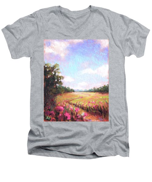A Spring To Remember Men's V-Neck T-Shirt