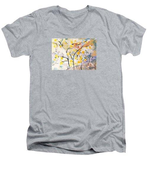 A Study In Qi-3 Men's V-Neck T-Shirt