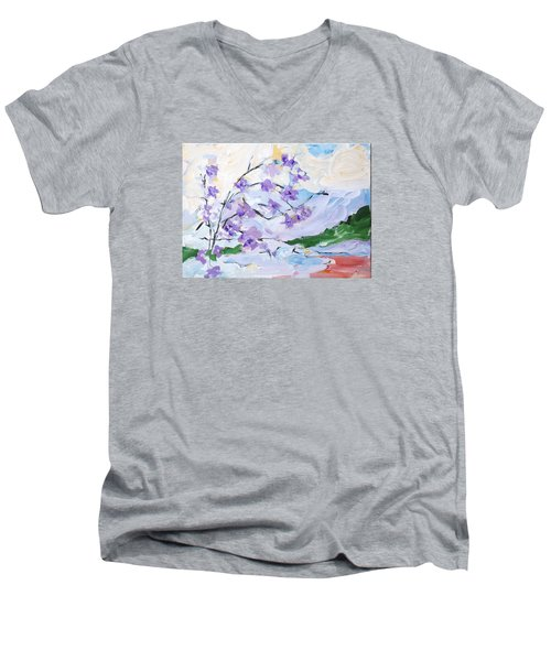 A Study In Qi Number Two Men's V-Neck T-Shirt